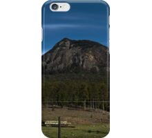 Mt Greville, Qld Australia, HDR from north iPhone Case/Skin