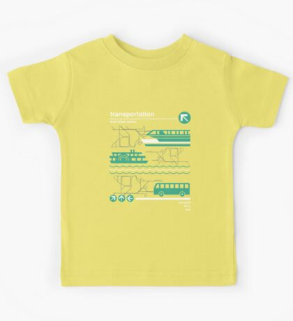Monorail, Bus and Ferry Kids Tee