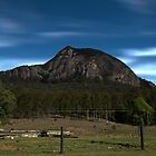 Mt Greville, Qld Australia, HDR from north by Mark Batten-O'Donohoe