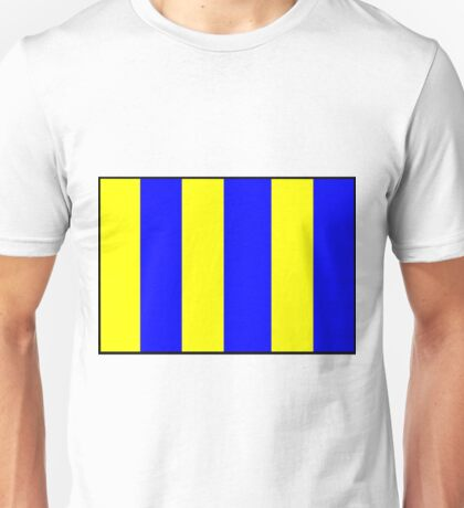Letter G Flag Unisex T-Shirt