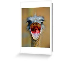 Open Wide Greeting Card