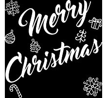 Special Merry Christmas Celebration Photographic Print