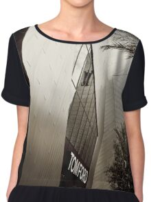 Tom Ford Menswear Shop in Vegas  2 - Black and White 2 Chiffon Top
