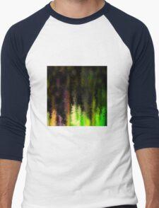 Neon painted goods Men's Baseball ¾ T-Shirt
