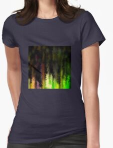 Neon painted goods Womens Fitted T-Shirt