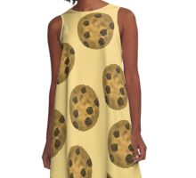 Chocolate Chip Cookies  A-Line Dress
