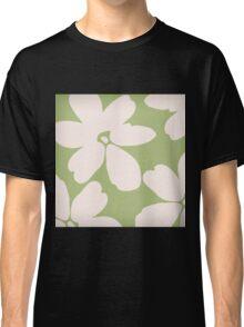 English Garden Flower Pattern Classic T-Shirt