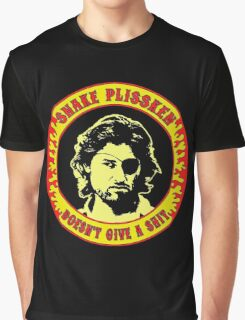 Snake Plissken (doesn't give a shit) Colour Graphic T-Shirt