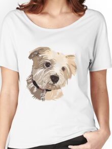 Daisy Dog Women's Relaxed Fit T-Shirt