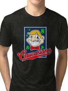 Caucasians Baseball Team Tri-blend T-Shirt