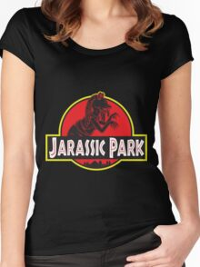 Jarassic Park Women's Fitted Scoop T-Shirt