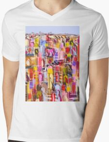 Urban colours Mens V-Neck T-Shirt