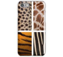 Textures of the Wild iPhone Case/Skin