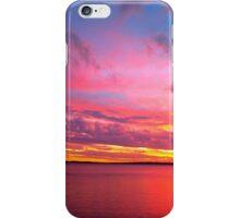 """Magic"" Sunset, Wellington Point QLD iPhone Case/Skin"