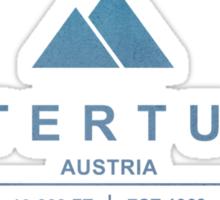 Hintertuxer Ski Resort Austria Sticker