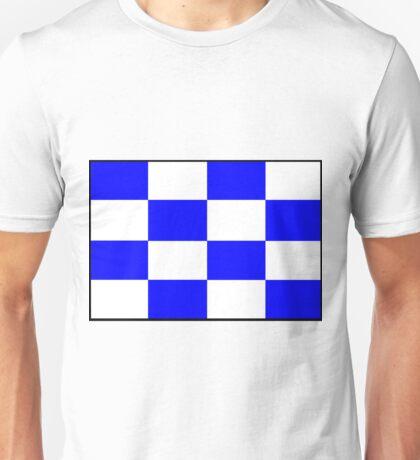 Letter N Flag Unisex T-Shirt