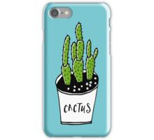 Cactus 01 iPhone Case/Skin