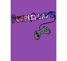 PurplePlayz - Controller Photographic Print