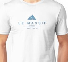 Le Massif Ski Resort Quebec Unisex T-Shirt