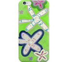 Starfish lime - Galaxy iPhone Case/Skin