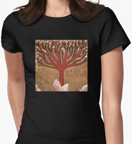 Crystal Tree Womens Fitted T-Shirt