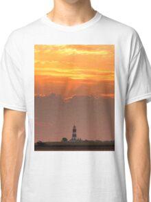 Sun rays over Happisburgh Classic T-Shirt