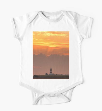 Sun rays over Happisburgh One Piece - Short Sleeve