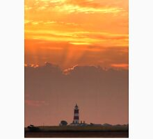 Sun rays over Happisburgh Unisex T-Shirt