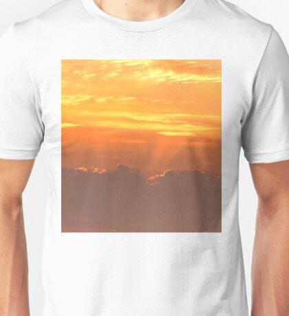 Sunset rays Unisex T-Shirt