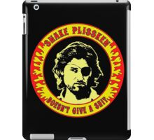 Snake Plissken (doesn't give a shit) Colour iPad Case/Skin