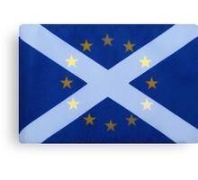 Scotland's Desire To Remain Canvas Print