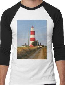 Happisburgh Lighthouse Norfolk  Men's Baseball ¾ T-Shirt