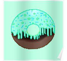 Chemical reaction doughnut  Poster