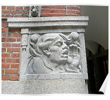 Cornerstone Sculpture Poster