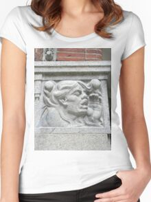 Cornerstone Sculpture Women's Fitted Scoop T-Shirt