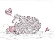 Tangled Sweet Dreams Sheep by Christianne Gerstner
