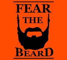 Fear The Beard - White Unisex T-Shirt