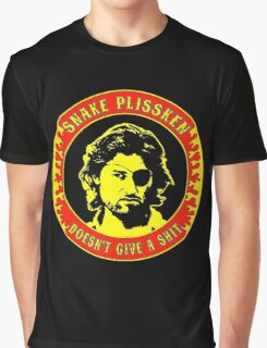 Snake Plissken (doesn't give a shit) Colour 2 Graphic T-Shirt