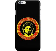 Snake Plissken (doesn't give a shit) Colour 2 iPhone Case/Skin