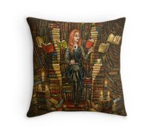 The Word Witch Throw Pillow