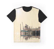 Stage Harbor Fish Pier, Cape Cod Graphic T-Shirt