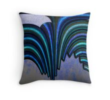Pipe Distortion Throw Pillow