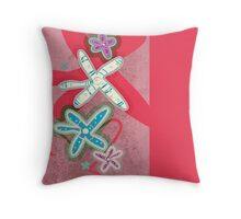 Starfish red - Pillow and tote Throw Pillow