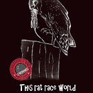 This rat race world is in need of more owls - I support International Owl Day, 4th August by Qnita