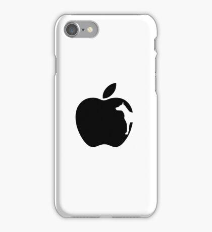 White Dog Computers Man's Best Friend PC Phone Logo iPhone Case/Skin