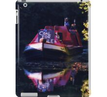 Anyone for coal on the oxford canal iPad Case/Skin