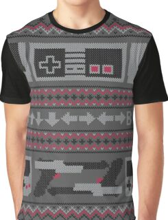 Old School Sweater Graphic T-Shirt