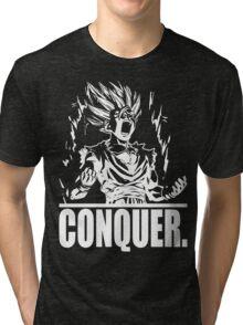 CONQUER (Gohan) Tri-blend T-Shirt