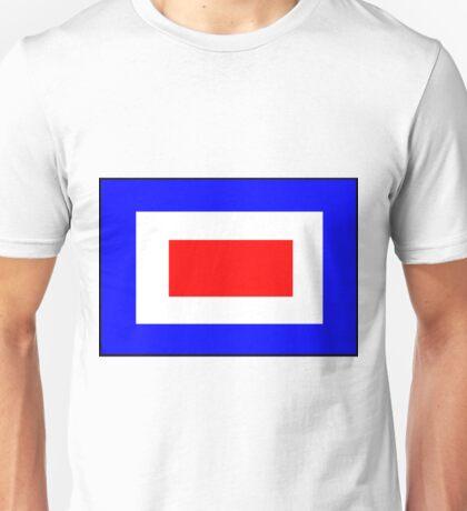 Letter W Flag Unisex T-Shirt