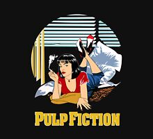 Pulp Fiction - Mia Circular Variant Unisex T-Shirt